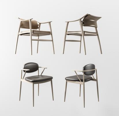 現代單椅組合