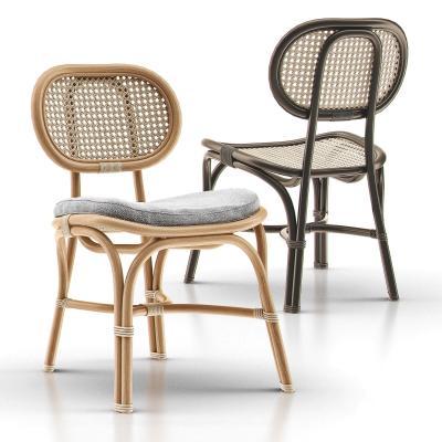 北欧编织休闲椅 藤椅 户外椅