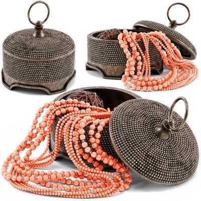 东南亚首饰 项链 珠宝盒