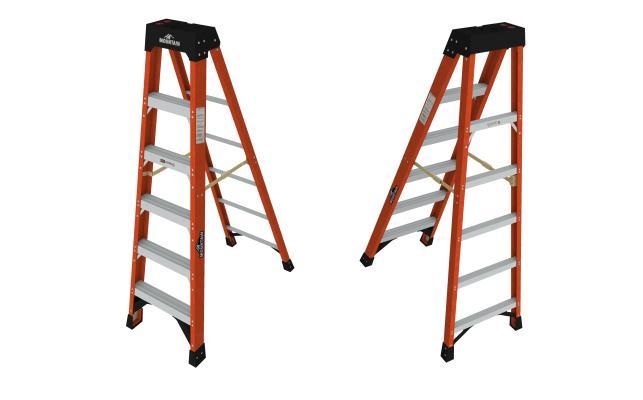 现代简约红色梯子