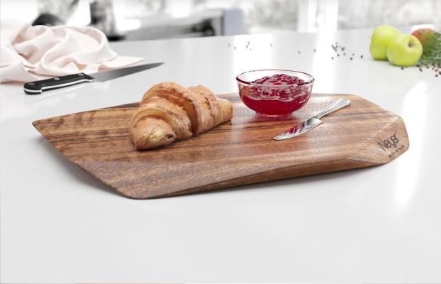现代切菜板 面包 果酱刀
