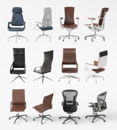 现代办公椅 职员椅 会议椅 老板椅组合