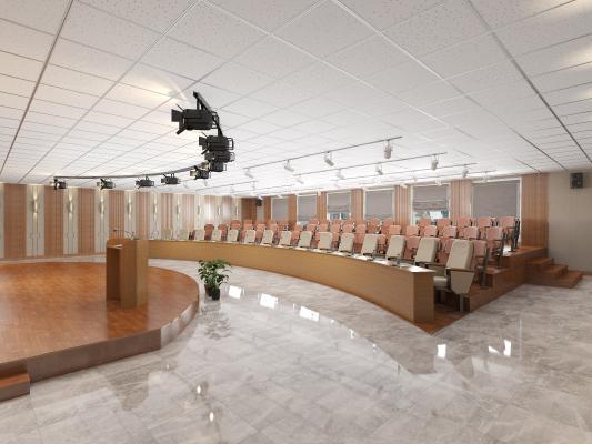 现代礼堂 典礼会场 会议室