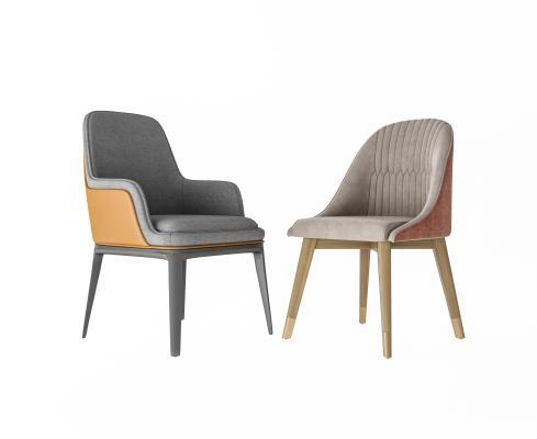 北欧简约餐椅 单椅