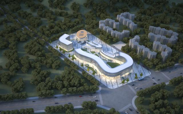 现代商业建筑 异形商业 商业规划