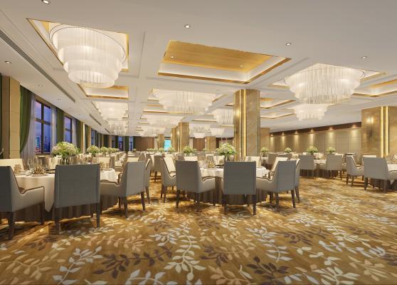 现代风格酒店宴会厅