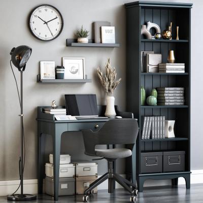 现代书桌椅 写字台 椅子 书柜