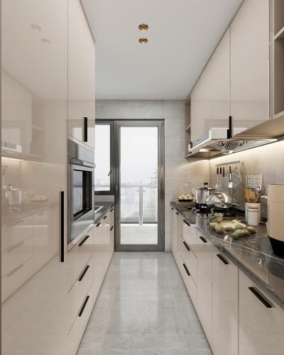 现代厨房 橱柜 厨具