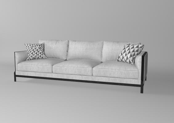 新中式布艺沙发