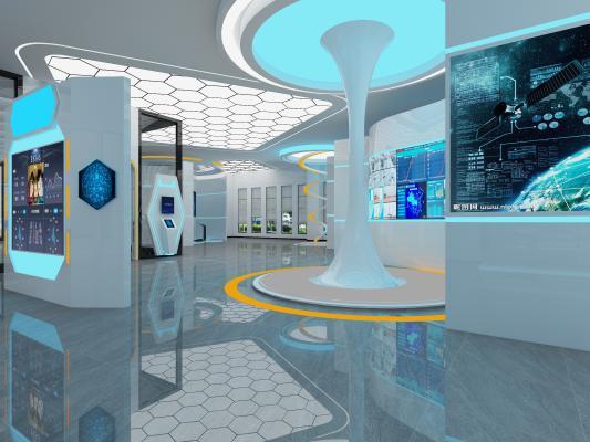 現代科技館展廳