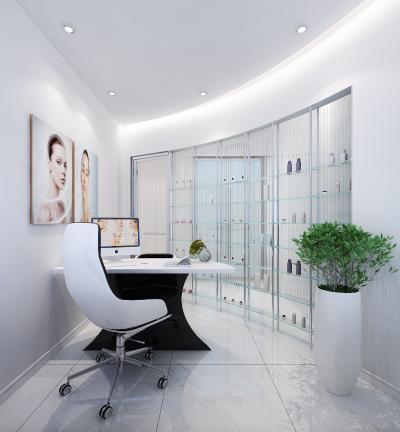 现代美容院 接待室 咨询室
