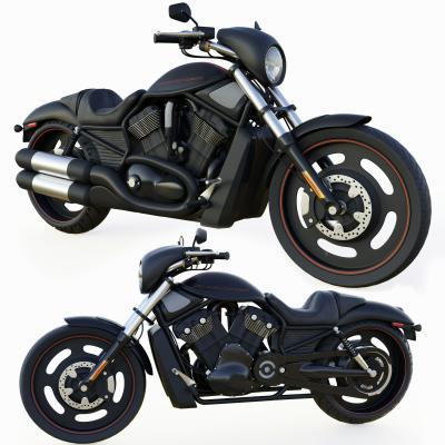 现代风格机动车 摩托车