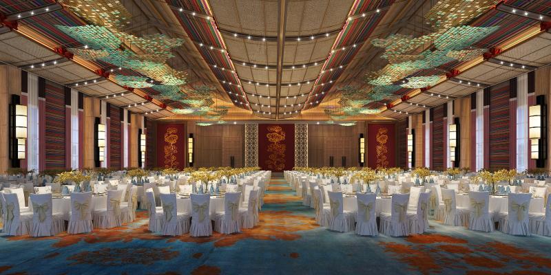 新中式风格酒店宴会厅