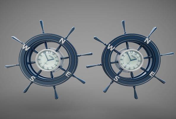 工业风格时钟
