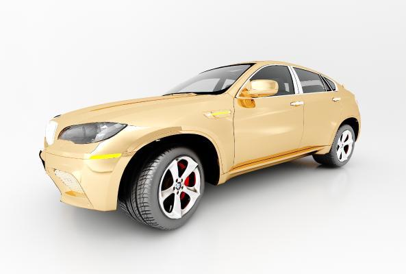 现代风格汽车