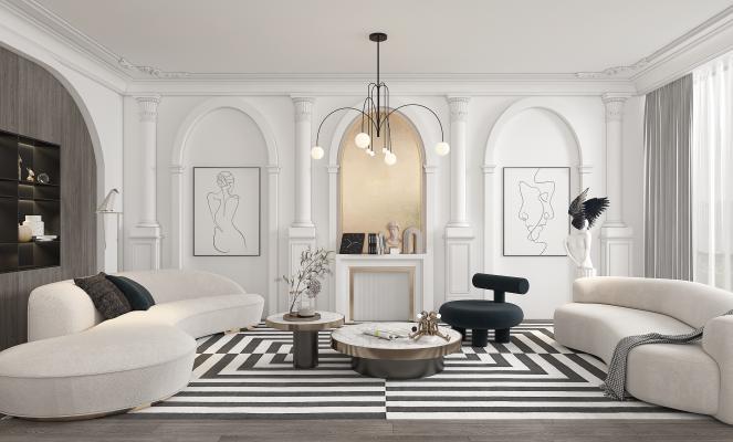 法式客廳 休息室