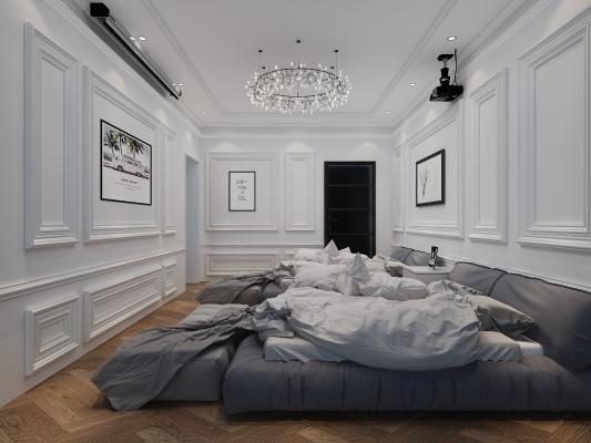 北欧民宿 沙发 客房