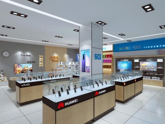 现代手机店营业厅