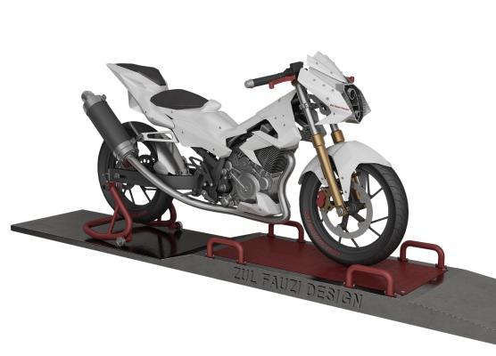 现代铃木摩托车