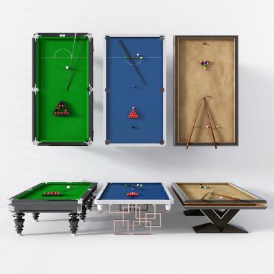 新中式桌球台台球