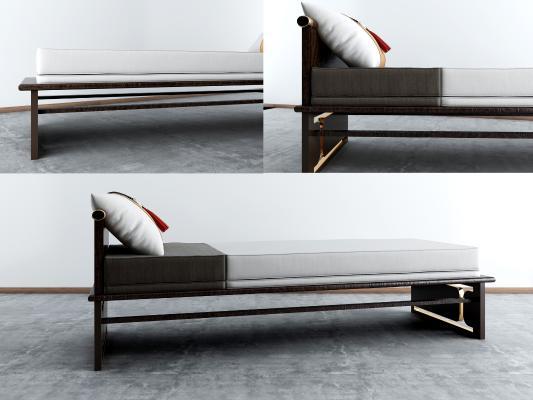 新中式床尾凳 床榻