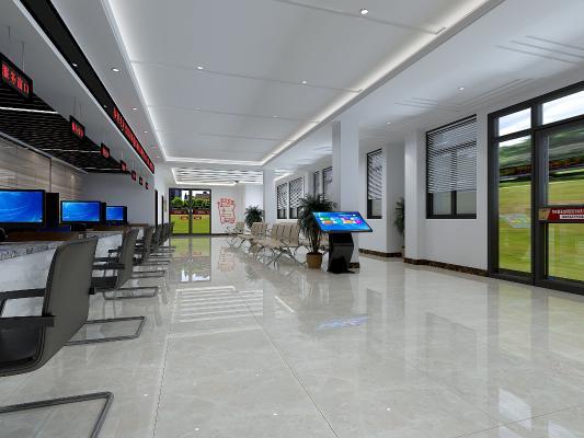 现代风格服务中心