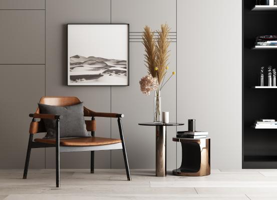 现代单人椅