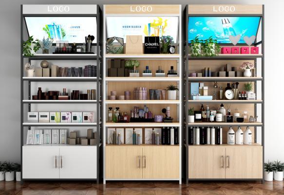 现代货柜 化妆品 植物