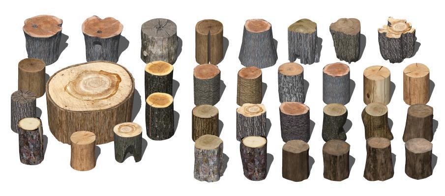 现代风格凳子 木头凳子