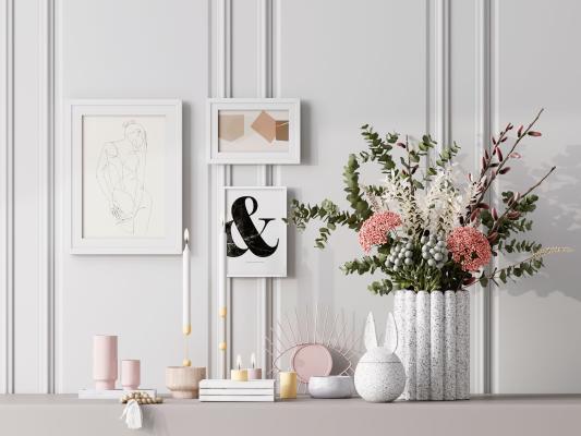 現代簡約裝飾品 擺件 裝飾畫