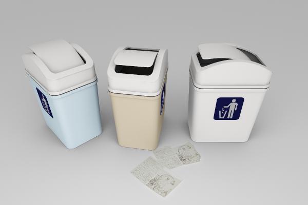 现代家居垃圾箱 纸篓 废纸篓