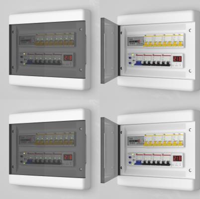 现代电箱总闸开关