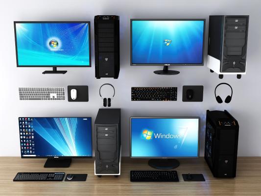 现代电脑 键盘 鼠标