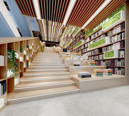 现代图书馆 书吧