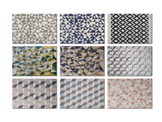 现代风格地毯