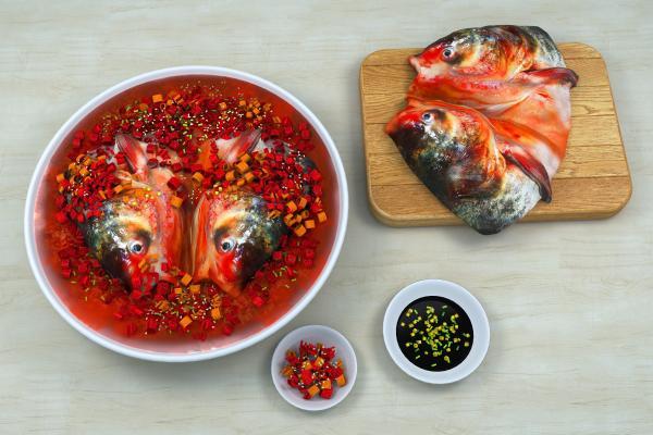 现代剁椒鱼头