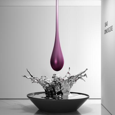 現代水滴雕塑