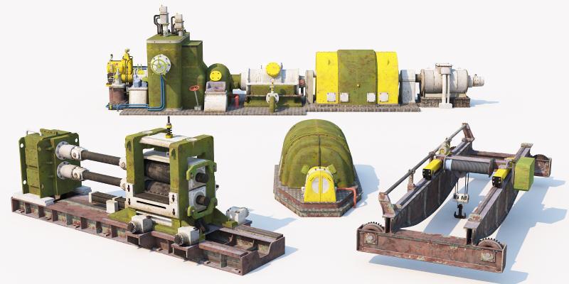 现代工业设备 机械设备