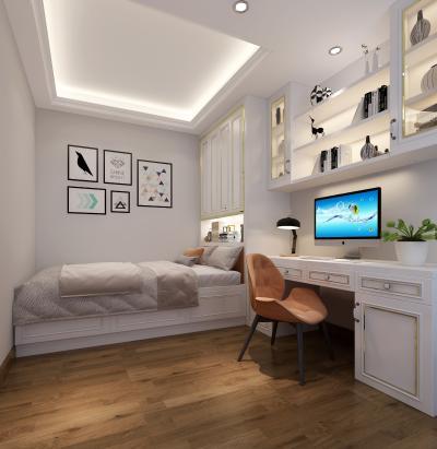 欧式简约卧室 多功能房