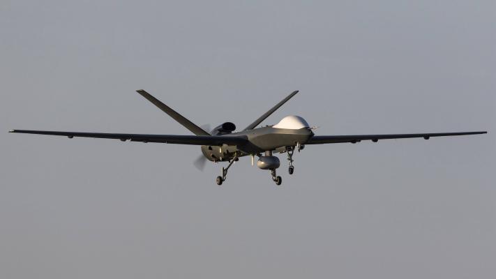 現代軍用無人機