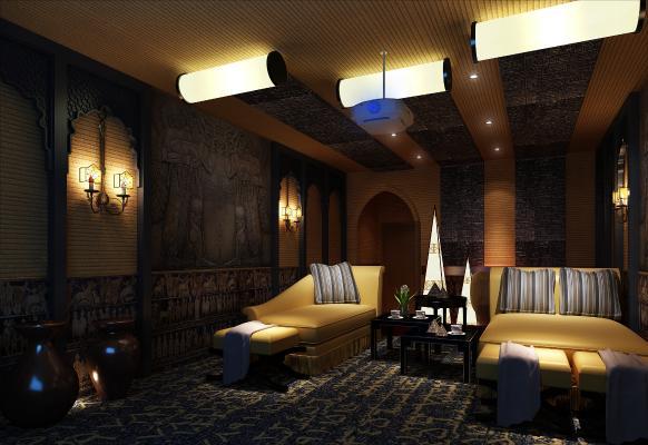 东南亚风格电影院 影城 私人影院