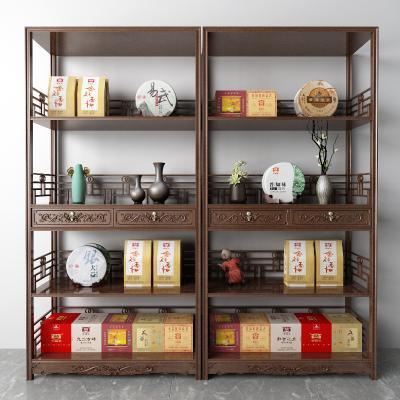 中式茶叶柜 展示架