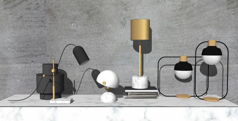 现代风格台灯