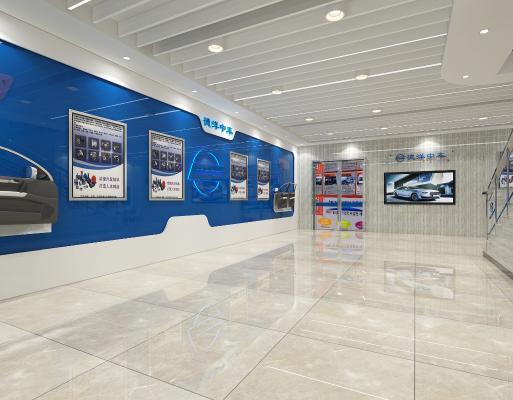 现代汽车展厅