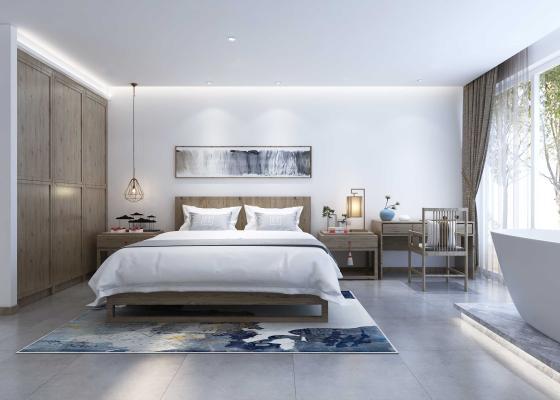 新中式风格客房