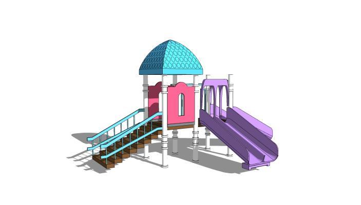 现代游乐设施