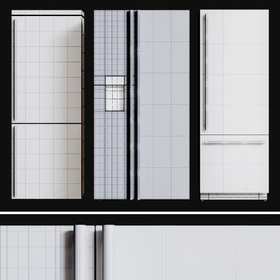 现代厨房电器冰箱