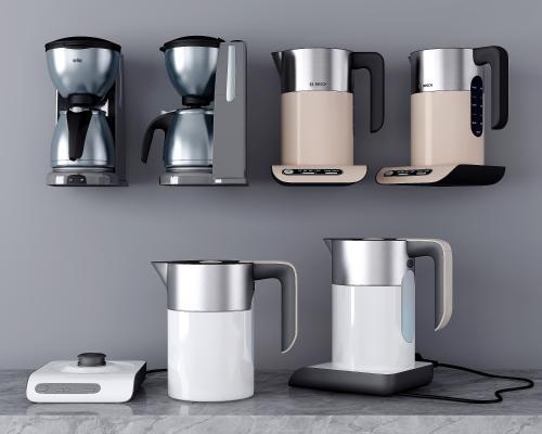现代厨房电器 电热水壶