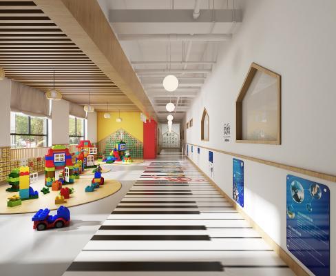 现代幼儿园情景教室