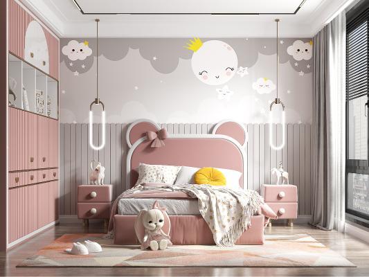 �F人代�和�房 女孩房 床�^��